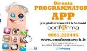INFO DAY CORSI DI PROGRAMMAZIONE APP (per Piattaforma iOS e Android)