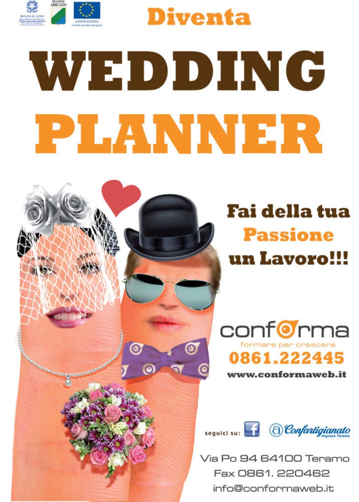 Corso di formazione per WEDDING PLANNER